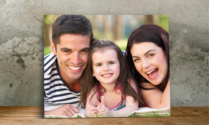 """ImageCom.com: $5 for an 8""""x10"""" Photo on Metal Print from ImageCom.com ($69.95 Value)"""