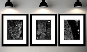 Retro Framed 19x23 City Maps at Retro Framed 19x23 City Maps, plus 9.0% Cash Back from Ebates.