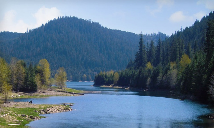 McKenzie River Mountain Resort - McKenzie River Valley, OR: Two-Night Stay with Optional Waterfall Tour, Biking, or Scrapbooking at McKenzie River Mountain Resort in Central, OR