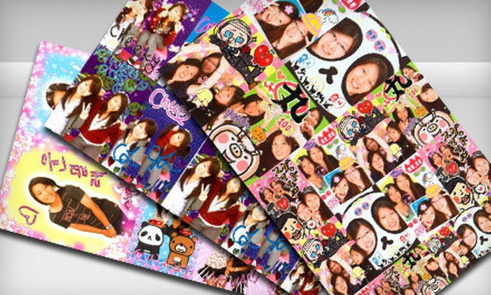Fun Pix Inc. - Mccully - Moiliili: Three or Five Sheets of Photo-Booth Stickers at Fun Pix Inc. (Up to 53% Off)