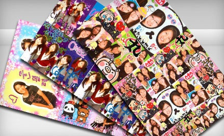 3 Sheets of Decorative Photo Stickers  - Fun Pix Inc. in Honolulu