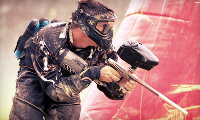 Paintball Action Games - Lambton Industrial: Indoor Paintballing for 2, 6, or 10 with Gear Rental at Paintball Action Games (Up to 67% Off)
