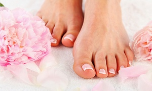 Esthétique Mireille Caron: 1 or 2 Complete Pedicures with Polish Application and Optional Reflexology at Esthétique Mireille Caron (Up to 59% Off)