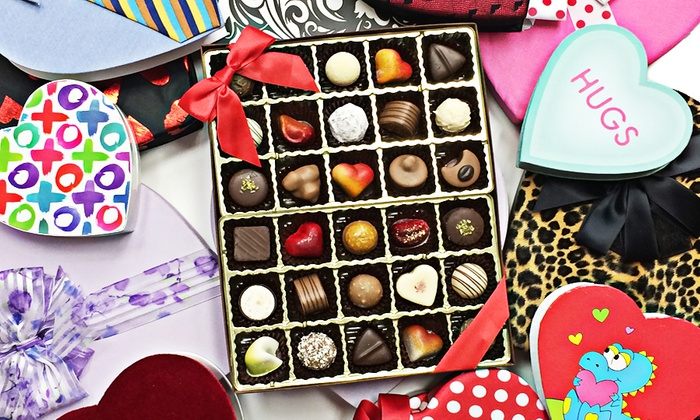 The Sweet Spot - Sweet Spot – Chocolates and Milkshakes: Box of Valentine's Day Original or Swiss Truffles at The Sweet Spot (Up to 44% Off)