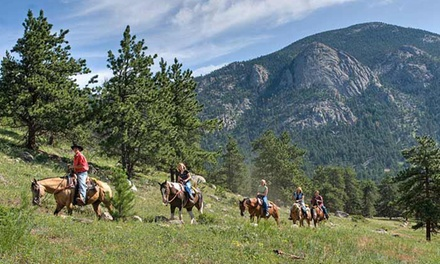 Two-Hour Horseback Trail Ride for One or Two from SK Horses in Estes Park (Up to 47% Off)