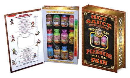 Ass Kickin Hot Sauce Challenge Book of Pleasure & Pain