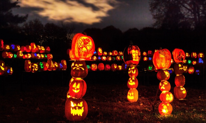 RISE of the Jack O'Lanterns - Descanso Gardens: $16 to Visit Rise of the Jack O'Lanterns (Up to $26 Value). 20 Entry Times Available.