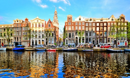 ✈ Amsterdam: Up to 4 Nights at Choice of Hotels with Return Flights*