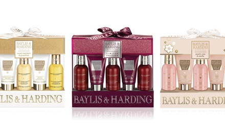 Baylis & Harding Five-Piece Body Wash and Skincare Set