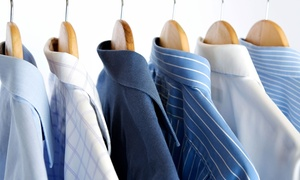Deluxe Cleaners: Dry Cleaning at Deluxe Cleaners (50% Off). Two Options Available.