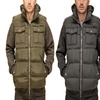 English Laundry Men's Quilted Bomber Jacket