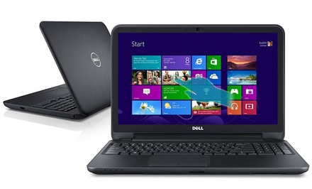 groupon daily deal - Dell Inspiron Touchscreen Laptop with 1.9GHz Intel Dual-Core Processor (Manufacturer Refurbished). Free Returns.