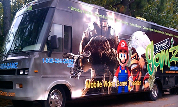 StreetGamz - Atlanta: $245 for an Two-Hour Video-Gaming Bus Party for Up to 18 from StreetGamz ($495 Value)
