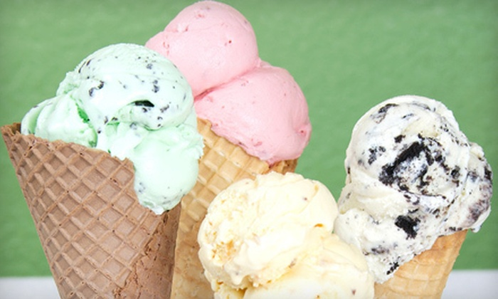 Sarah's Original & Old Fashion Ice Cream - Steveston: 2 Litres of Ice Cream or One Decorated Ice-Cream Cake at Sarah's Original & Old Fashioned Ice Cream (Up to 57% Off)