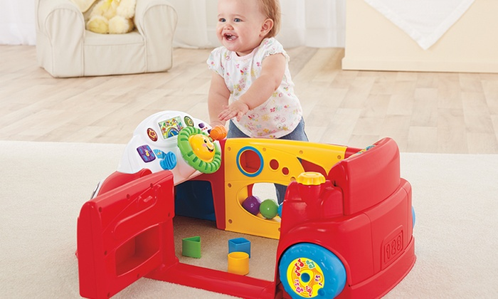 Fisher-Price Laugh & Learn Crawl Around Car: Fisher-Price Laugh & Learn Crawl Around Car. Free Shipping and Returns.