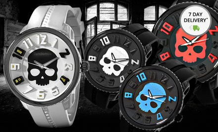 Tendence Hydrogen Skull Watches. Multiple Styles Available. Free Returns.