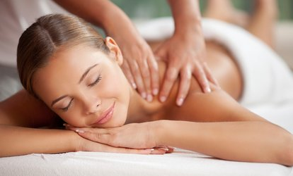 image for Back, Neck and Shoulder Massage or Facial with Optional Nail and File Polish at Glamour (Up to 48% Off)