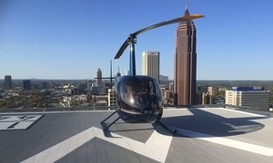 Atlanta Helicopters: Discovery Flight for One or an Atlanta Tour for Up to Three from Atlanta Helicopters (Up to 48%Off)