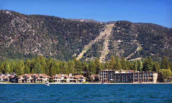 Tahoe Lakeshore Lodge & Spa - South Lake Tahoe, CA: One- or Two-Night Stay at Tahoe Lakeshore Lodge & Spa in South Lake Tahoe, CA