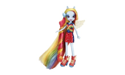 My Little Pony Equestria Girls Rainbow Dash Hairstyling Doll. Free Returns.