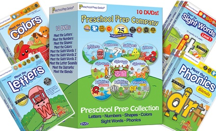 Preschool Prep 10-DVD Collection.