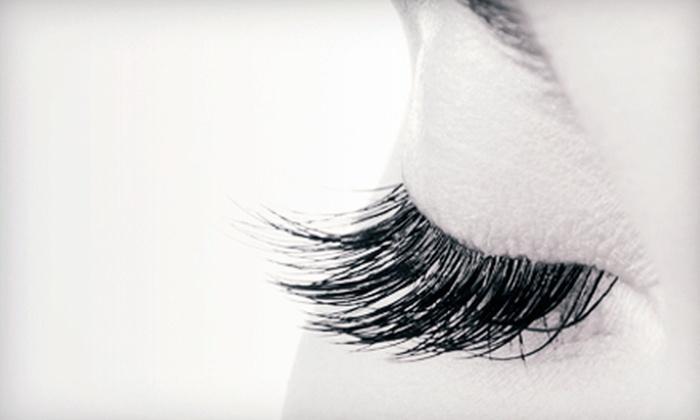 Posh Laser & Lash - Clarksville: Partial or Full Set of Eyelash Extensions or Refills at Posh Laser & Lash (Up to 56% Off)
