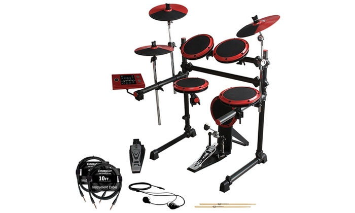 ddrum DD1 Complete Electronic Drum Kit: ddrum DD1 Complete Electronic Drum Kit. Free Returns.