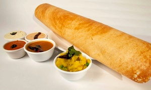 Bawarchi Dosa: Indian Meal for Two or Four with Dosas, Wine, and Desserts at Bawarchi Dosa (Up to 44% Off)