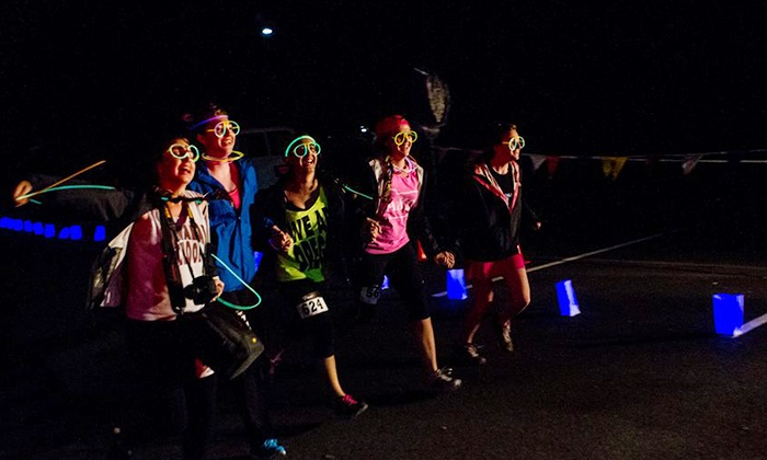 Glow XC - Lowell: 7K Glow XC Run for One or Two with Headlamps on Saturday, May 30, at 9:30 p.m. (Up to 45% Off)