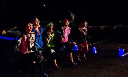 7K Glow XC Run for One or Two with Headlamps on Saturday, May 30, at 9:30 p.m. (Up to 45% Off)