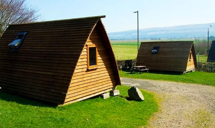 The Trossachs: 2 or 3Night Glamping for Two or Family of Five at Mains Farm Wigwams