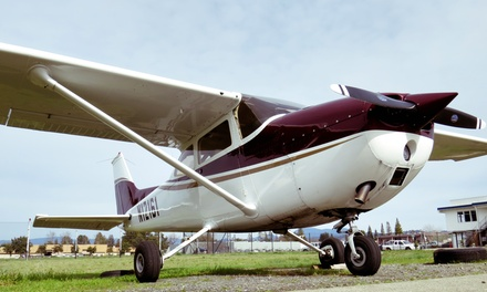$185 for a Scenic Flight of Sonoma County for Three People from North Coast Air ($338 Value)