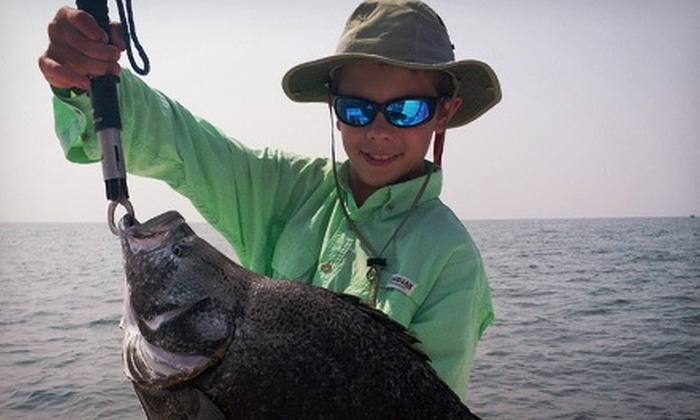 Mobile Bay Charters - Fairhope: Four- or Six-Hour Chartered Fishing Trip for Up to Three from Mobile Bay Charters (Half Off)