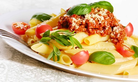Italian Cuisine for Lunch or Dinner at 90 Park Restaurant (Up to 51% Off). Three Options Available.