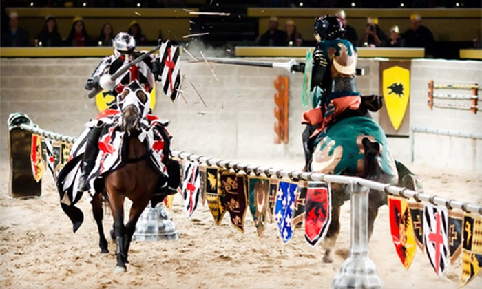 Medieval Times - Medieval Times: Knight Tournament and Feast for One, Two, or Four at Medieval Times (40% Off)