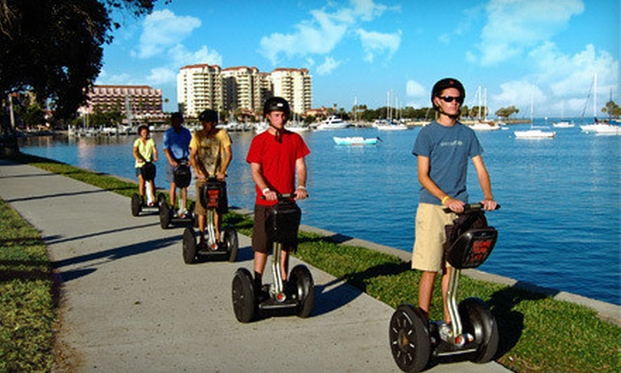 Magic Carpet Glide and St. Petersburg Segway Tours - Multiple Locations: $32 for a Segway Tour of Tampa or St. Petersburg from Magic Carpet Glide and St. Petersburg Segway Tours ($65 Value)