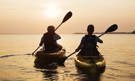 Paddle, Pizza, and Beer Package for Two or Four from The Gear ReSource (54% Off)