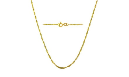 Solid 14K Gold 16