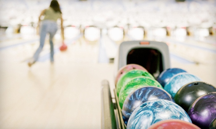 Strikers Family Sportscenter - Rock Hill: Two Games of Bowling and Shoe Rentals for Two, Four, or Six at Strikers Family Sportscenter in Rock Hill (Up to 55% Off)