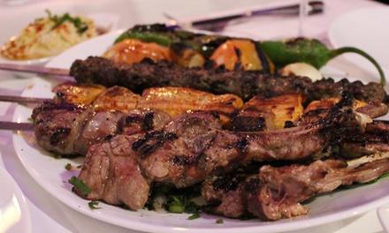 Orientalisches 3-Gänge-Menü mit Grillplatte für 2 oder 4 Personen im Restaurant Tagine (bis zu 54% sparen*)