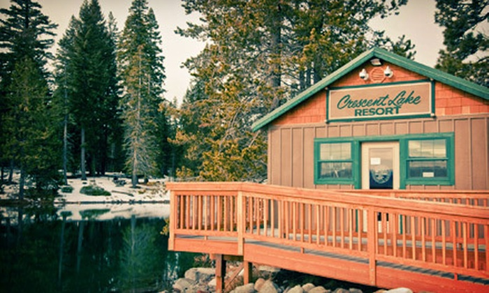 Crescent Lake Resort - Crescent Lake: Two-Night Stay for Up to Four with Boat Rental or $60 Toward Snowmobile Rental at Crescent Lake Resort (Up to 59% Off). Four Options Available.