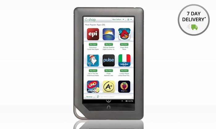 """Barnes & Noble Nook 7"""" 8GB Tablet: Barnes & Noble Nook 7"""" 8GB Tablet (BNTV250A) (Manufacturer Refurbished). Free Returns."""