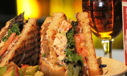 Gourmet Pub Fare for Breakfast, Brunch, Lunch, and Dinner at Chatterbox Pub (Up to 47% Off). Three Locations.