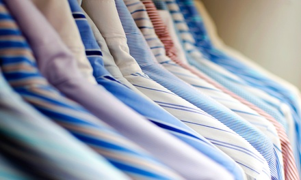 Organic Dry Cleaning at Enviro Cleaning (50% Off). Two Options Available.