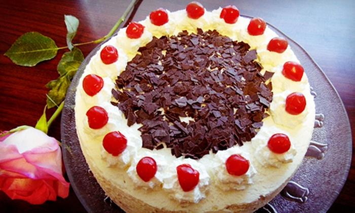 Schugga Bakery - Northeast San Antonio: Chocolate-Cream, Bee Sting, Black Forest, Apple, Amaretto, or Swiss Carrot Cake at Schugga Bakery (Up to 52% Off)