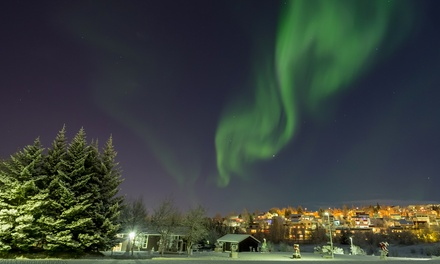 ✈ Reykjavik: 2 to 5 Nights with Flights and Northern Lights Tour or 24 Tours at Choice of Hotels*