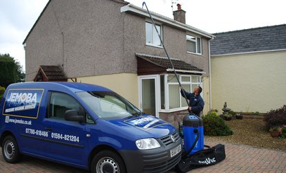 image for Gutter Cleaning for a House with Two, Three or Four Bedrooms at JEMOBA Pressure Washing Services
