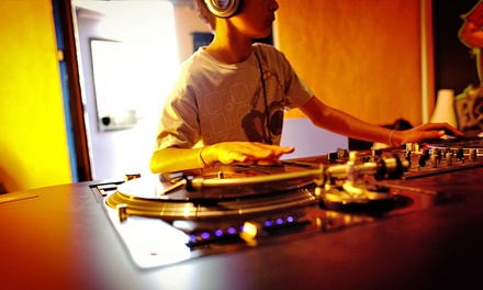 90-Minute Introductory DJ Session or Introductory Music-Creation Class at Dub Academy (65% Off)