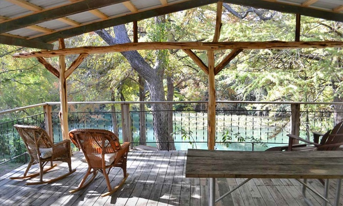 New Braunfels Camping >> Guadalupe River Houses in | Groupon Getaways