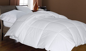 Hotel White Goose Down And Feather Comforter
